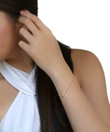 Clementine Loop Bracelet