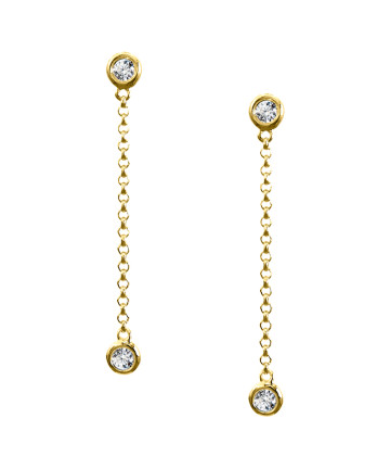 Linda Chain Earrings