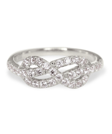 Elle Infinity Knot Ring
