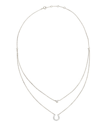 Elaine Layered Horseshoe Necklace