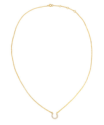 Tyra Horseshoe Necklace