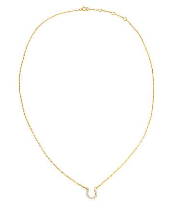 Tyra Horseshoe Necklace